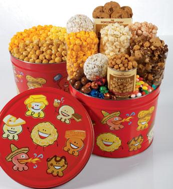Popcorn Pals Popcorn & Snack Tins