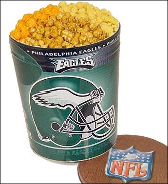 Philadelphia Eagles 3-Way Popcorn Tins