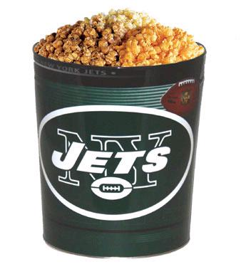 New York Jets 3-Way Popcorn Tin