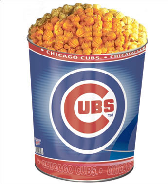 Chicago Cubs Popcorn Tin